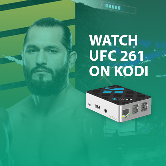 Watch UFC 261 on Kodi Live Online