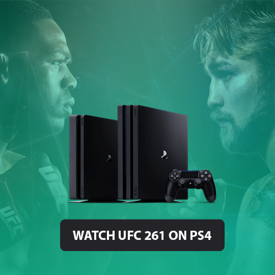 UFC 261 on PS4