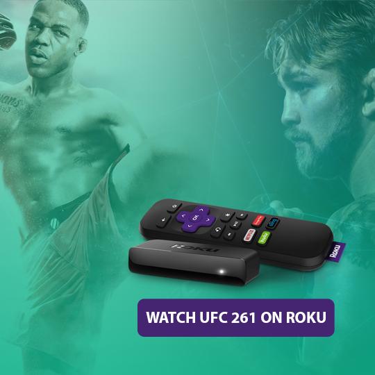 Watch UFC 261 Kamaru Usman vs. Jorge Masvidal on Roku live