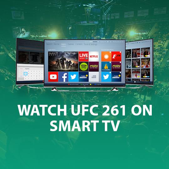 UFC 261 on Smart TV