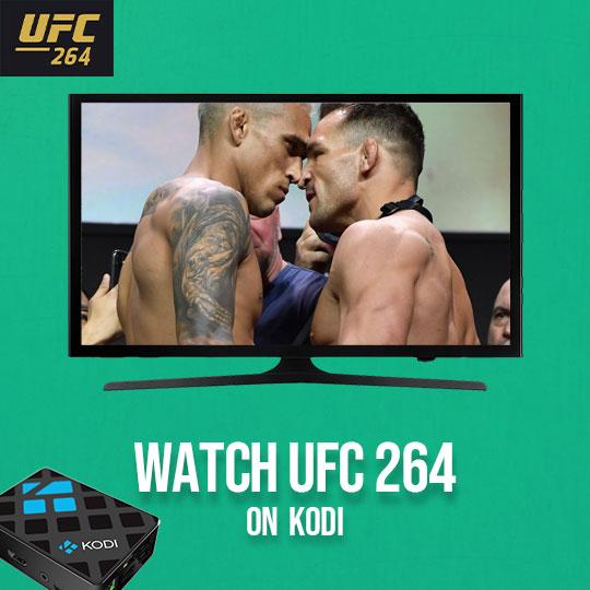 UFC 264 on Kodi