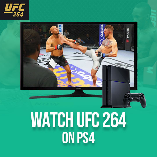 UFC 264 on PS4
