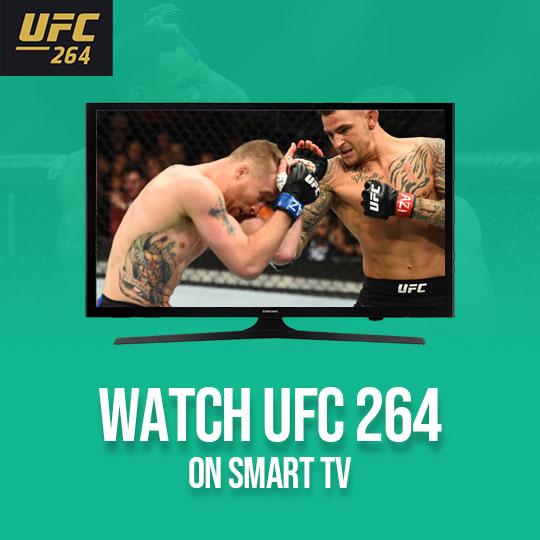 Watch UFC 265 on a Smart TV Live Online