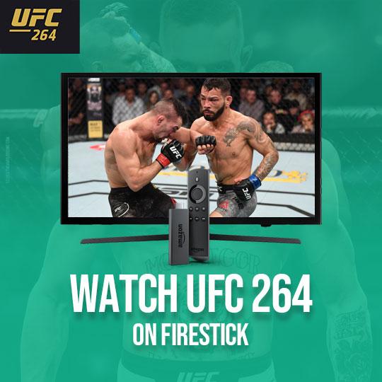 UFC 264 on firestick