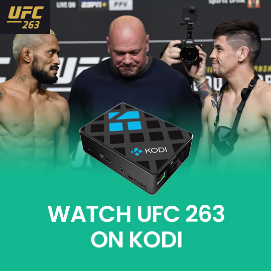 Watch UFC 264 on Kodi Live Online