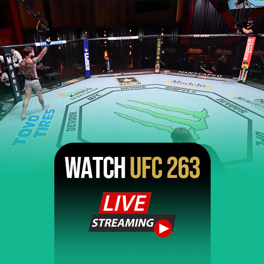 Watch UFC 263 Live Streaming Online Live