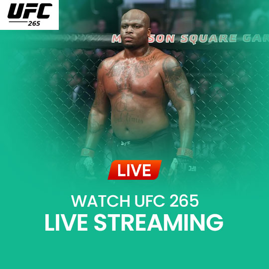 Watch UFC 266 Live Streaming Online Live