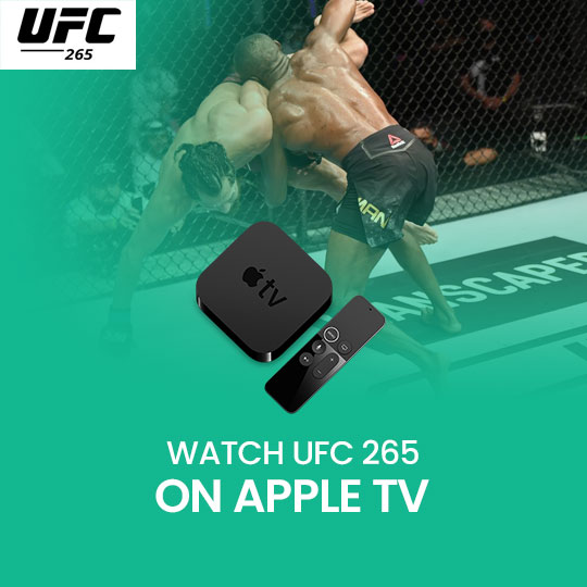 Watch UFC 266 on Apple TV Live Anonymously