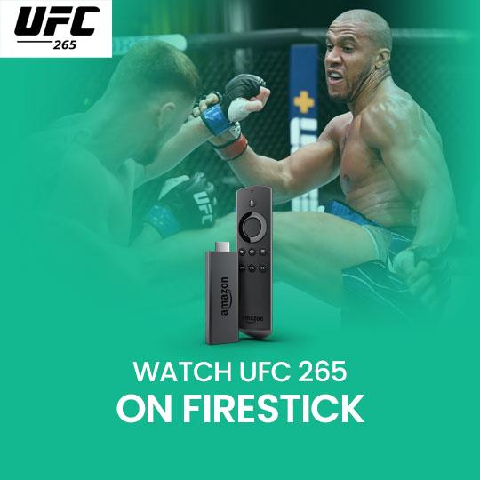 Watch UFC 266 on Firestick Online Live