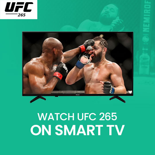 Watch UFC 266 on a Smart TV Live Online