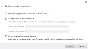 Figure 2 BitLocker Drive Encryption