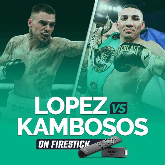 Watch Teofimo Lopez vs. George Kambosos on Firestick