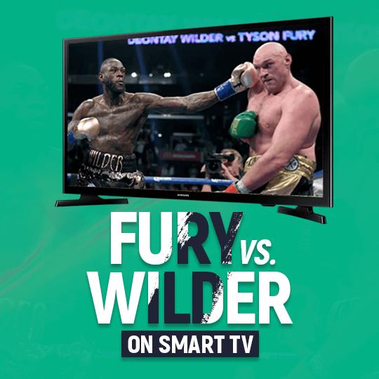 Watch Tyson Fury vs. Deontay Wilder on Smart TV