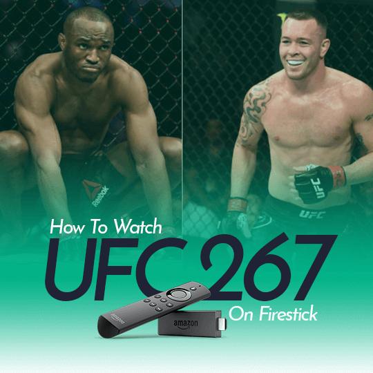 Watch UFC 267 on Firestick Online Live