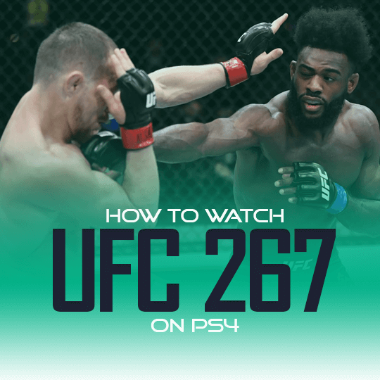 Watch UFC 267 on PS4