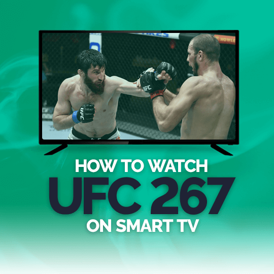 Watch UFC 267 on a Smart TV Live Online